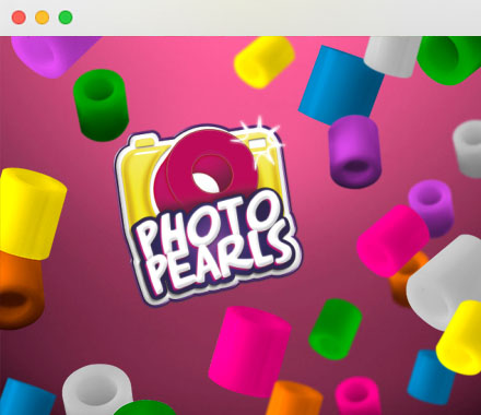 LandingPage Photopearls APP