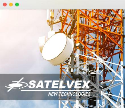 Landingpage SATELVEX